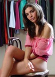 South American Teen Posing Almost Nude - Picture 11
