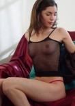 Sofia In A Sheer Top - Picture 2